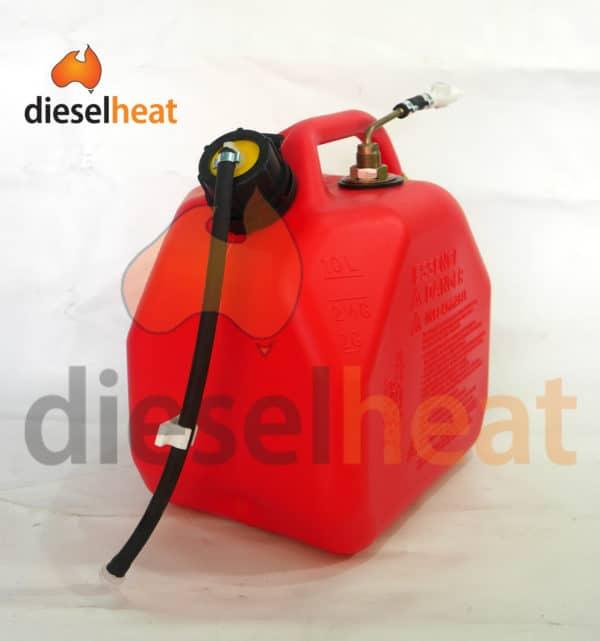 10L easy fit fuel tank